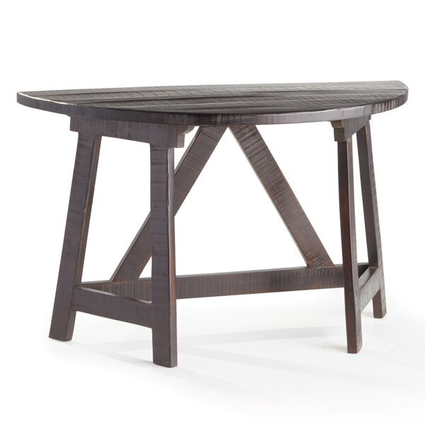 Review Cynthiana Demilune Console Table