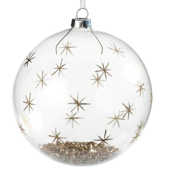 Star Christmas Ball Ornament (Set of 4) by Brayden Studio