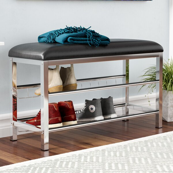Palmore Shoe Storage Bench by Rebrilliant
