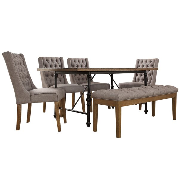 Alpert 6 Piece Dining Set by Williston Forge