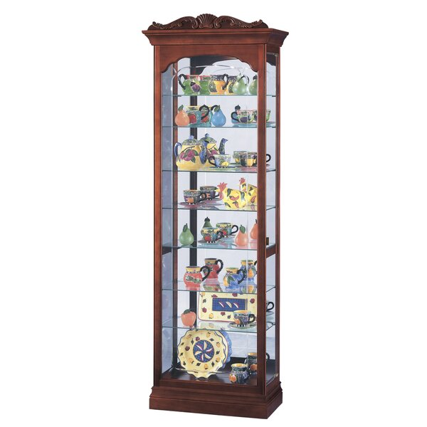 Bricker Curio Cabinet by Darby Home Co