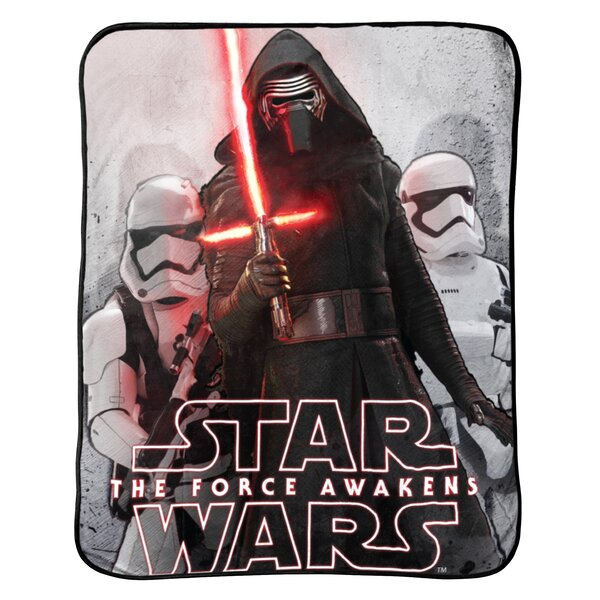 Ep7 Battle Front Plush Throw by Star Wars