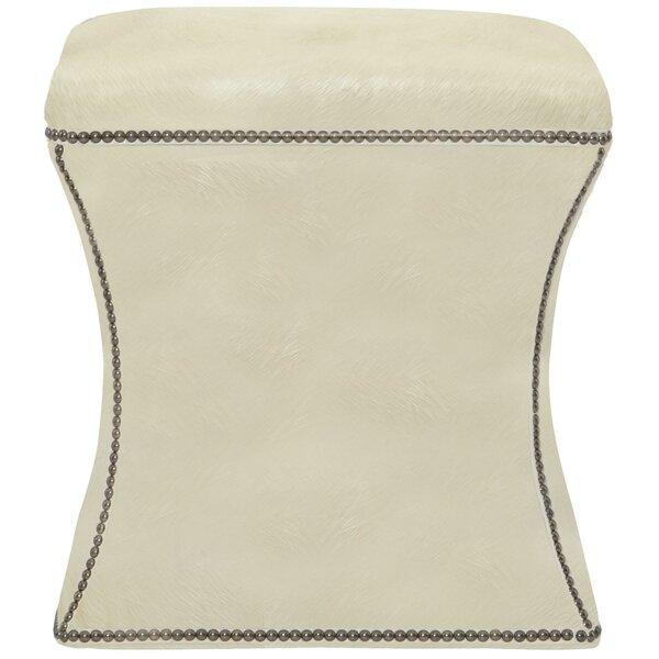 Sales Roscoe Leather Ottoman