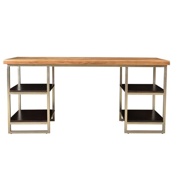 Brundidge 4 Shelve Writing Desk by Foundry Select