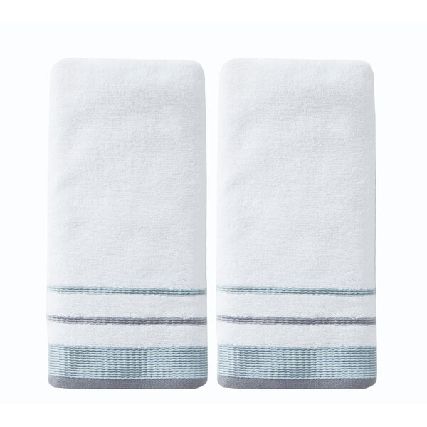 Hot Springs Cotton Hand Towel (Set of 2) by Charlton Home