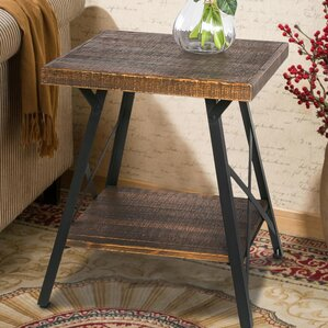 Boissonneault End Table by Loon Peak