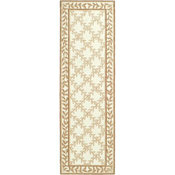DuraRug Hand-Woven Ivory/Beige Area Rug by Safavieh