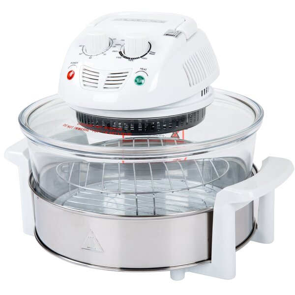 0.57 Cu. Ft. Halogen Tabletop Oven by Classic Cuisine