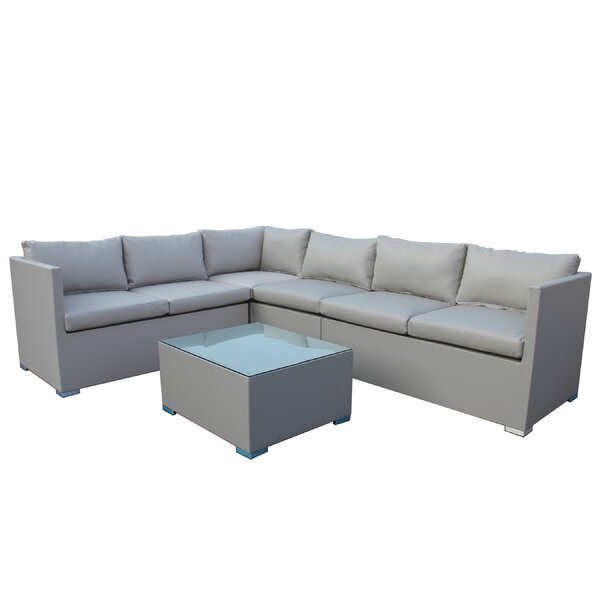 Cepeda 5 Piece Sectional Set with Cushions by Orren Ellis