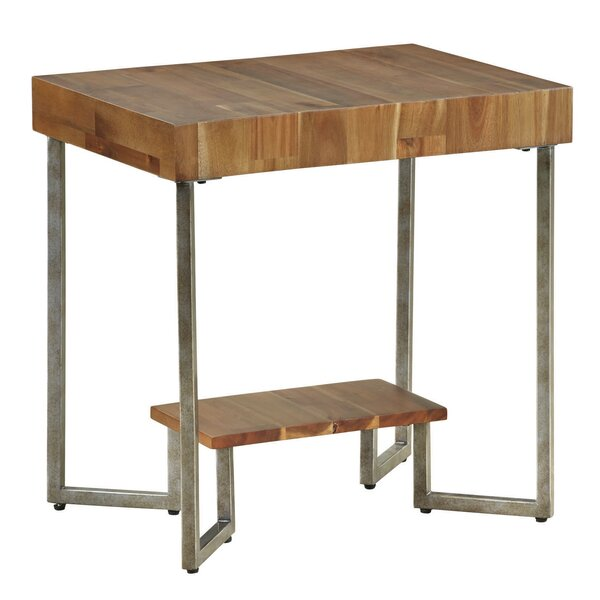Bolivar Rectangular End Table By Foundry Select