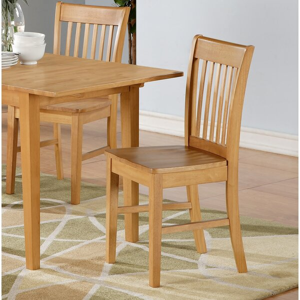 Antonio Solid Wood Dining Chair (Set of 2) by Andover Mills
