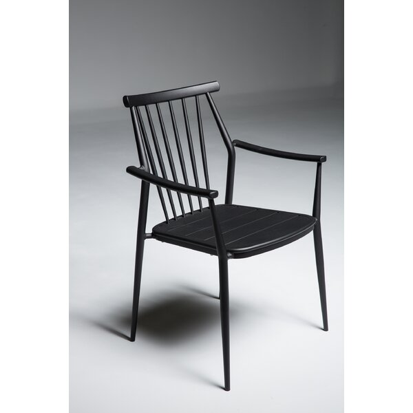 Chmura Stacking Patio Dining Chair by Brayden Studio