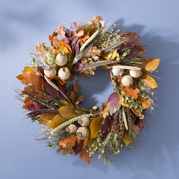 22 Autumn Pheasant Wreath by August Grove