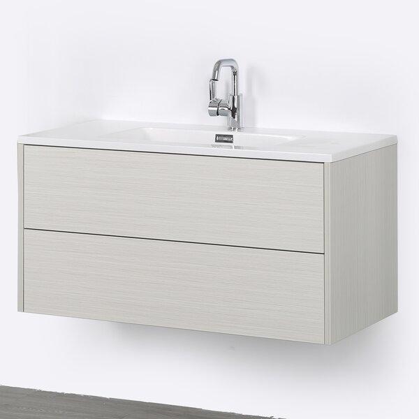 39 Wall-Mounted Single Bathroom Vanity Set by Streamline Bath