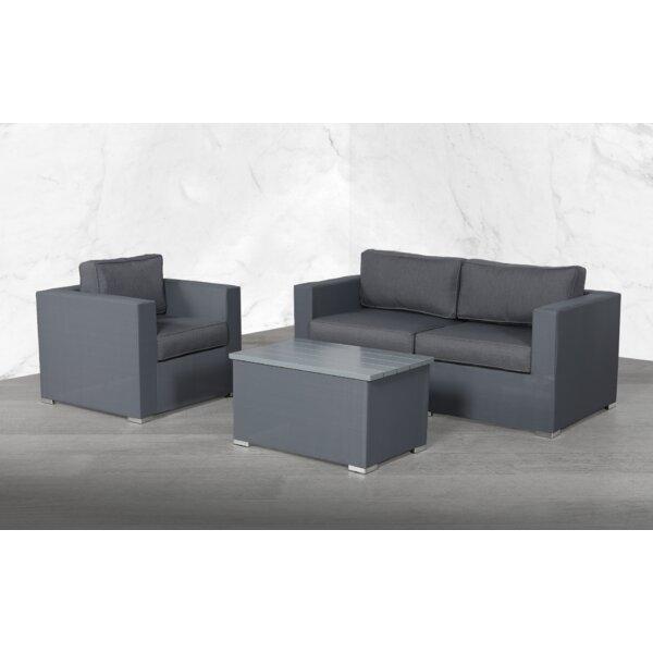 Felda Modular 4 Piece Sofa Seating Group with Cushions by Orren Ellis