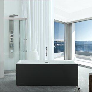 Aphrodite 60 x 30 Freestanding Soaking Bathtub ByEisen Home