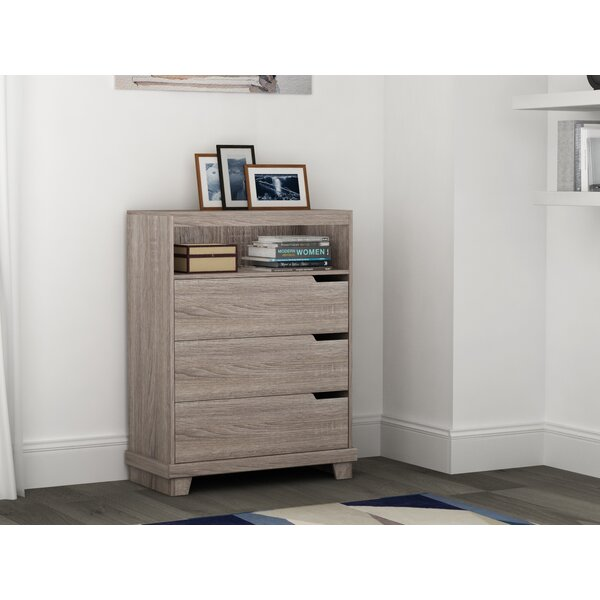 Reviews Waterloo 3 Drawer Chest By Homestar No Copoun