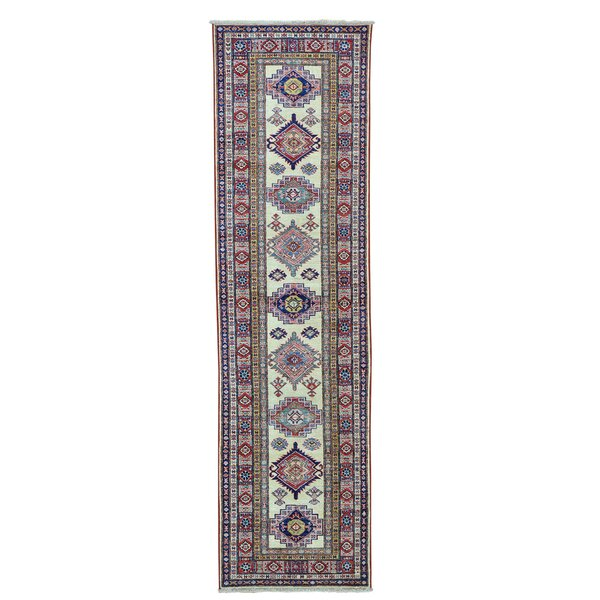 One-of-a-Kind Tillett Super Hand-Knotted Ivory Area Rug by Millwood Pines