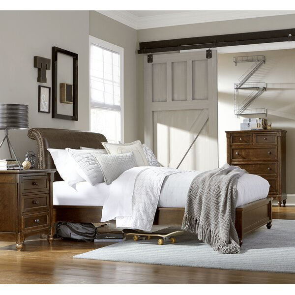 Big Sur Sleigh Bed by Wendy Bellissimo by LC Kids