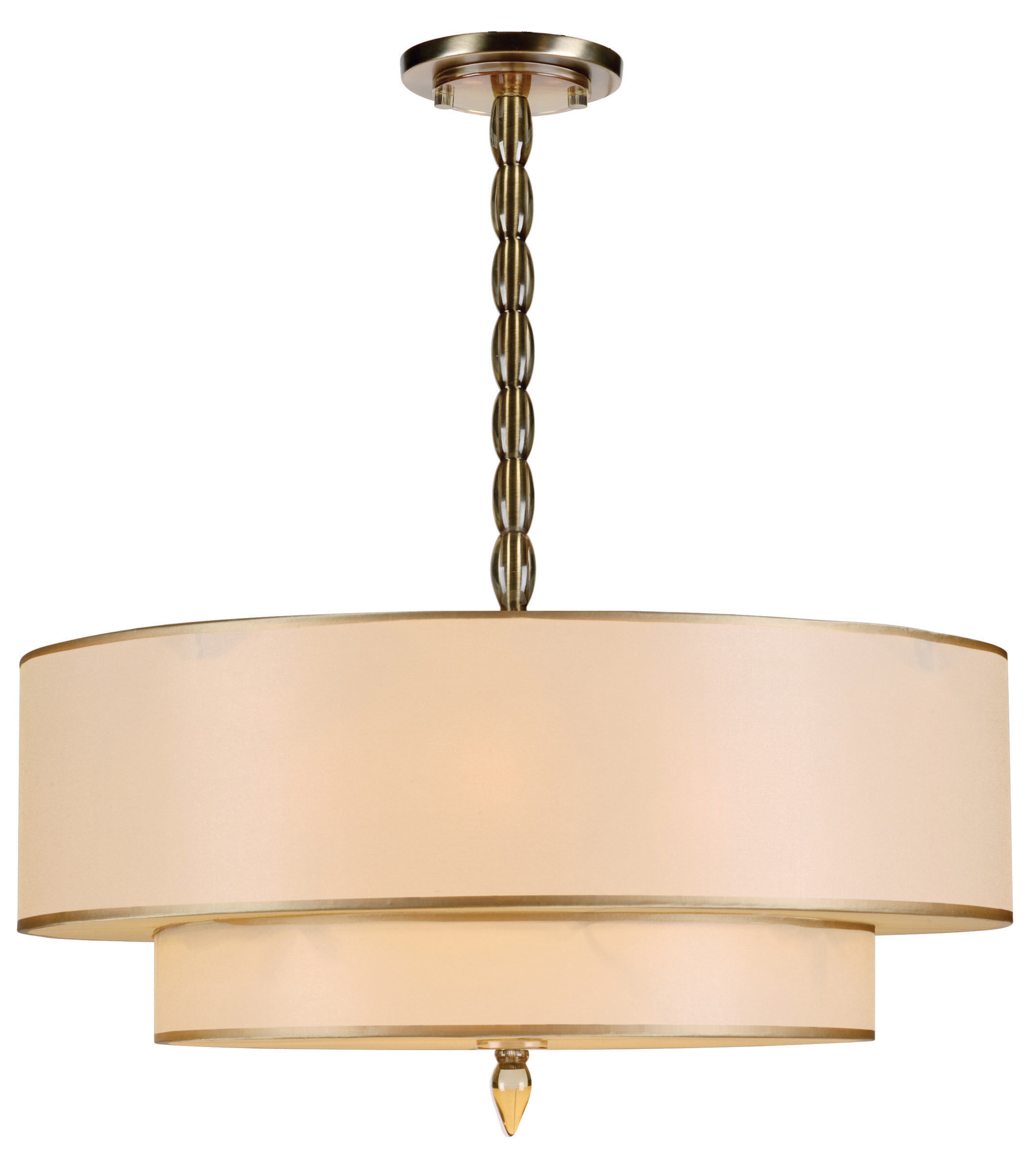 Crystorama Luxo 5 Light Drum Chandelier & Reviews