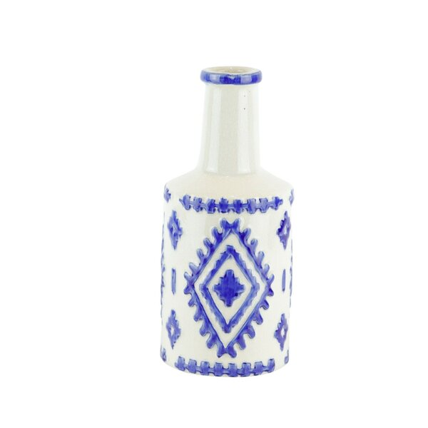 Timmons Ceramic Decorative Bottle by Union Rustic