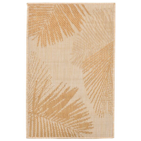 Cecile Palm Neutral Indoor/Outdoor Area Rug by Beachcrest Home