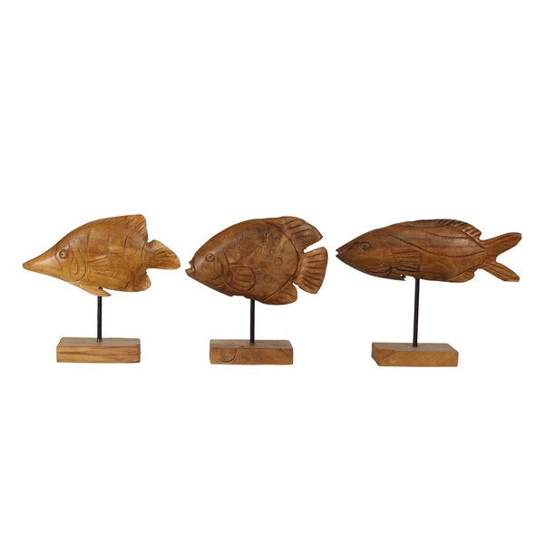 Pomfret Fish Sculpture by Ibolili