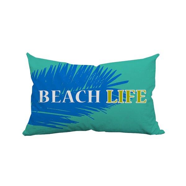 Palm Beach Life Textual Lumbar Pillow