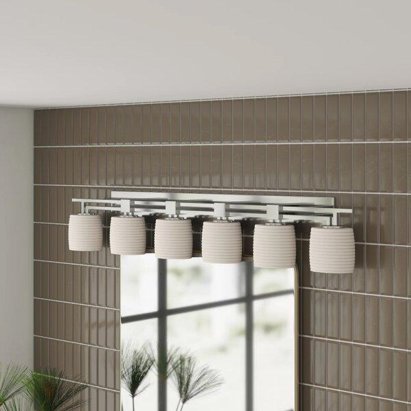Francesco 6-Light Vanity Light by Brayden Studio