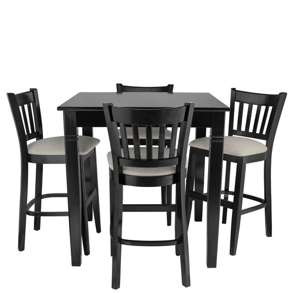 Weisgerber 5 Piece Pub Table Set by Red Barrel Studio