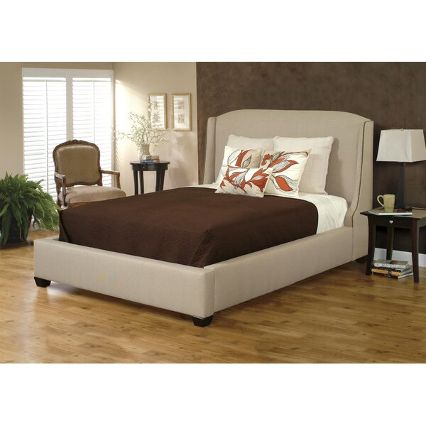 Chadwick Wingback Upholstered Sleigh Bed by Rosdorf Park