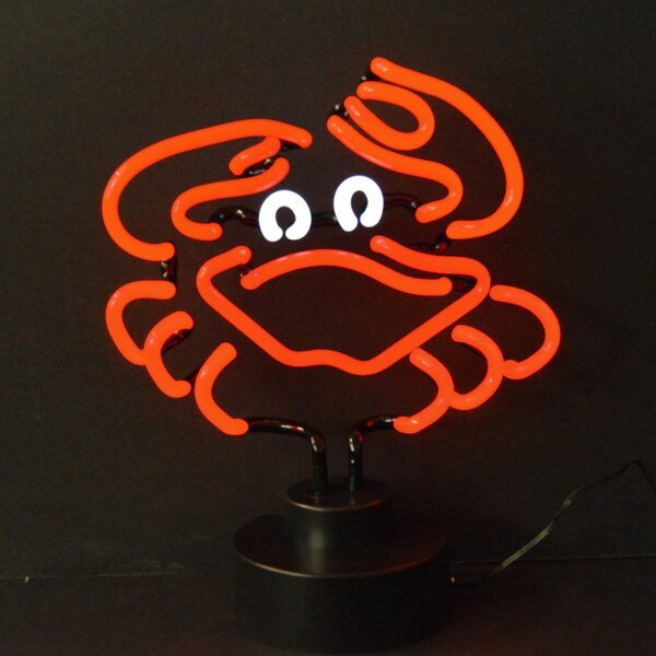 Business Signs Crab Neon Sculpture by Neonetics