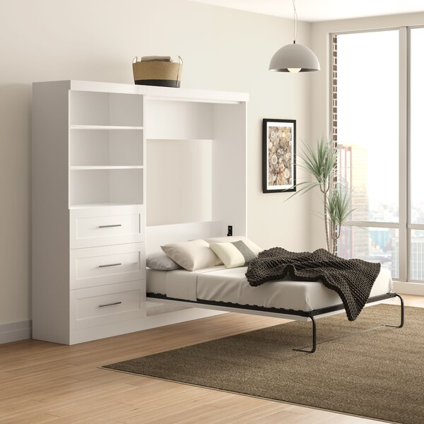 Walley Storage Murphy Bed by Brayden Studio
