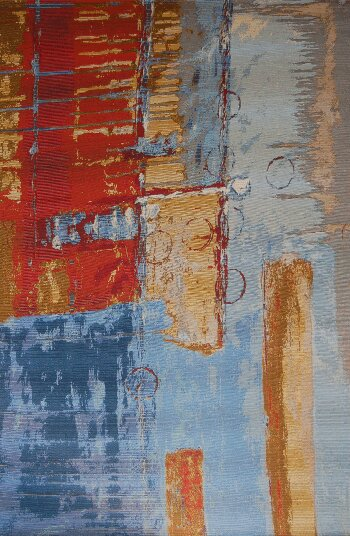 Kelloch Red/Blue Indoor/Outdoor Area Rug by Brayden Studio