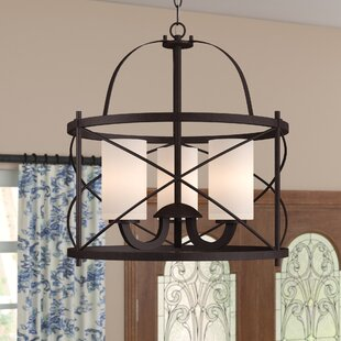 Reviews Farrier 3-Light Lantern Pendant By Darby Home Co
