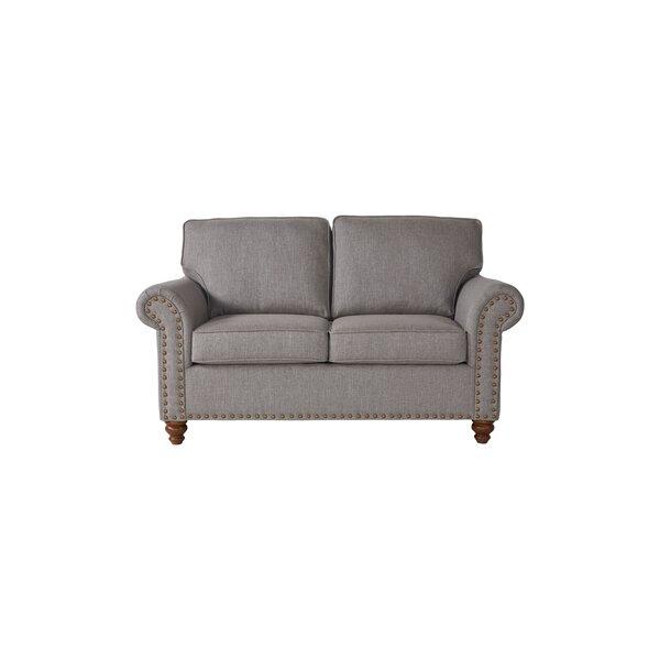 Buy Online Quality Serta Upholstery Hamza Loveseat by Alcott Hill by Alcott Hill