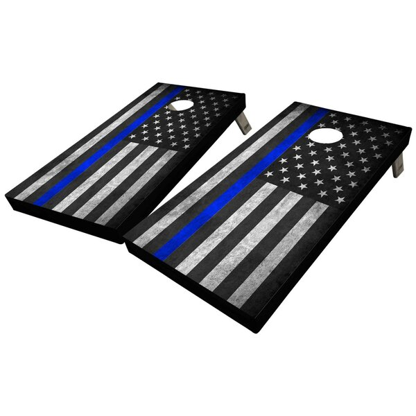 Lives Matter Custom 10 Piece Cornhole Set by West Georgia Cornhole