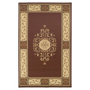Dodington Elegant Medallion Coffee Area Rug