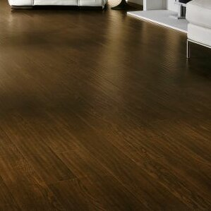Rustics 5 x 47 x 12mm Ash Laminate Flooring in Homestead Plank Roasted Grain by Armstrong Flooring
