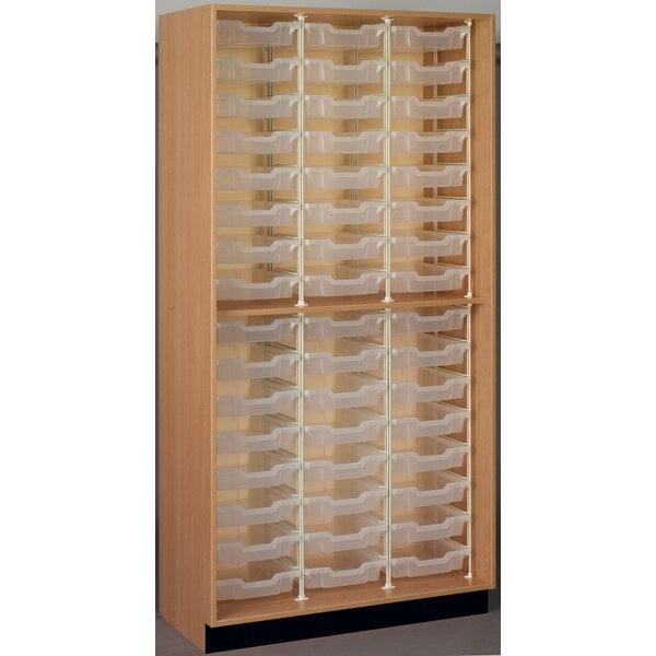 Science 48 Compartment Cubby by Stevens ID Systems