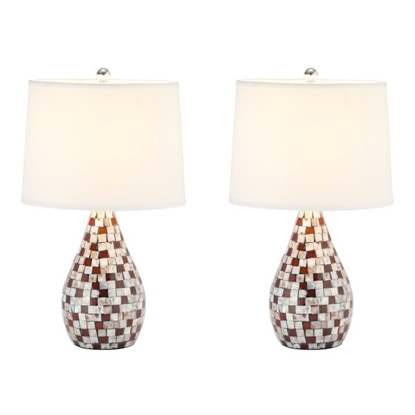 Mother Of Pearl 19.25 Table Lamp (Set of 2) by Safavieh
