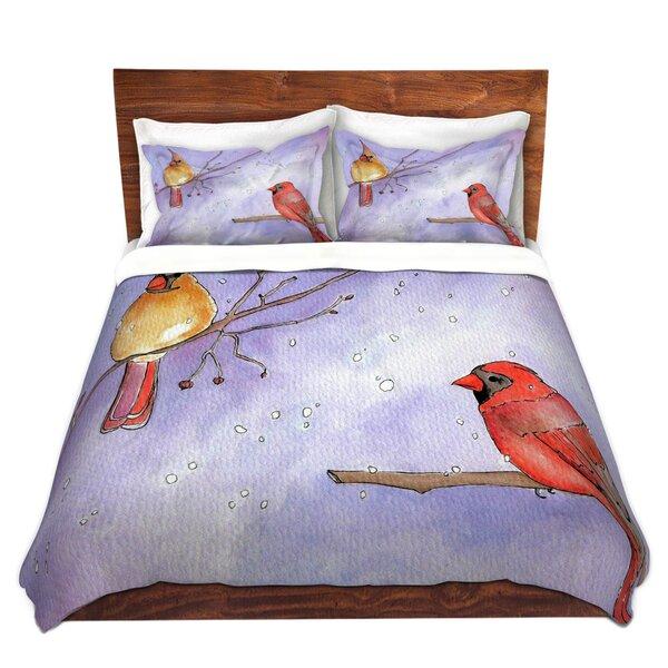 Cordial Cardinals Duvet Cover Set