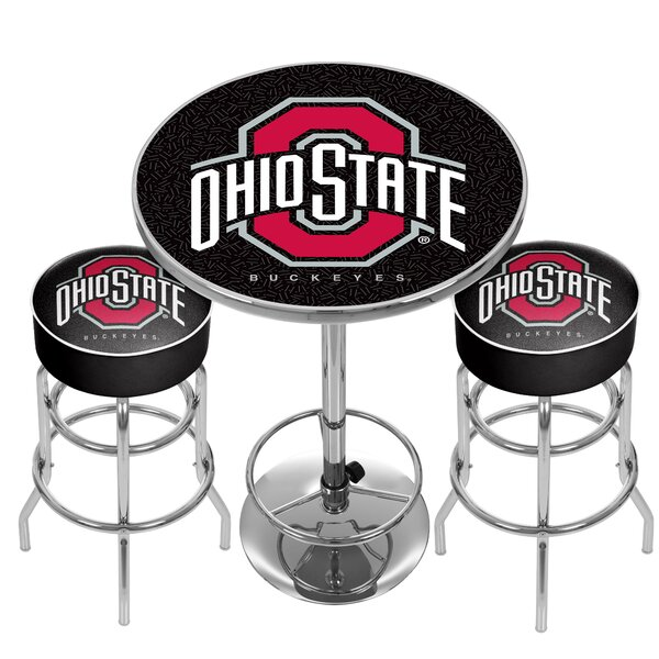 NCAA Game Room Combo Pub Table by Trademark Global