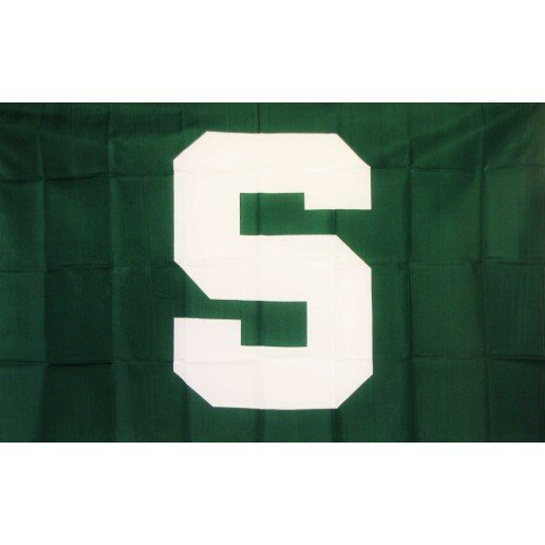 Michigan State Spartans Polyester 3 x 5 ft. Flag by NeoPlex