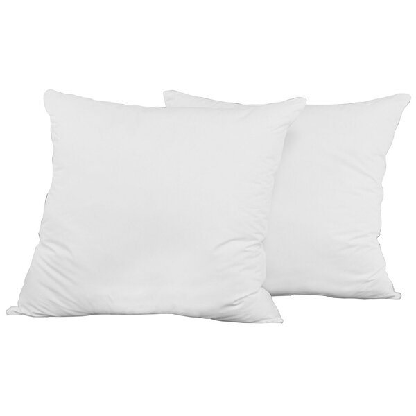 Polyfill European Pillow (Set of 2) by LCM Home Fashions