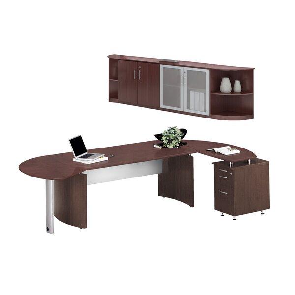 Medina Series L-Shape Desk Office Suite by Mayline Group