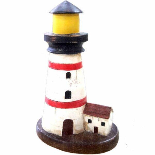 Mei Lighthouse Nautical Decor by Breakwater Bay
