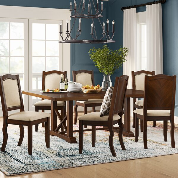 Chevaliers 7 Piece Dining Set by Birch Lane™ Heritage