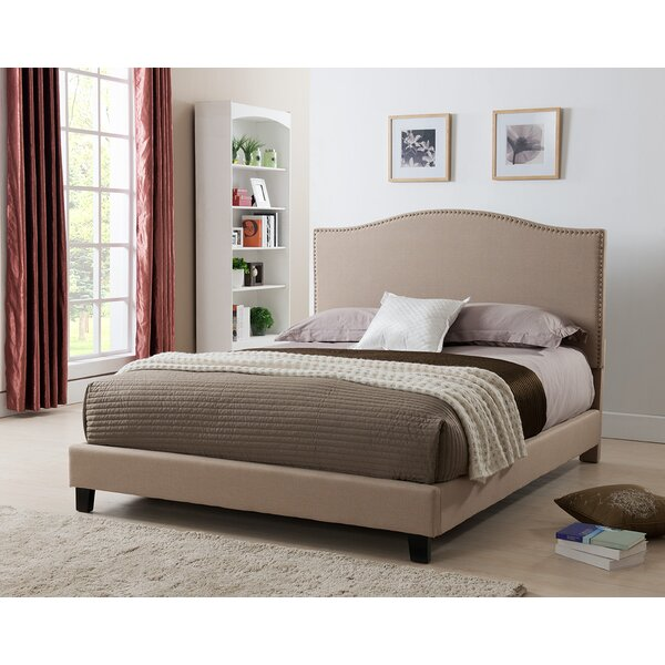 West Tisbury Upholstered Standard Bed by Charlton Home