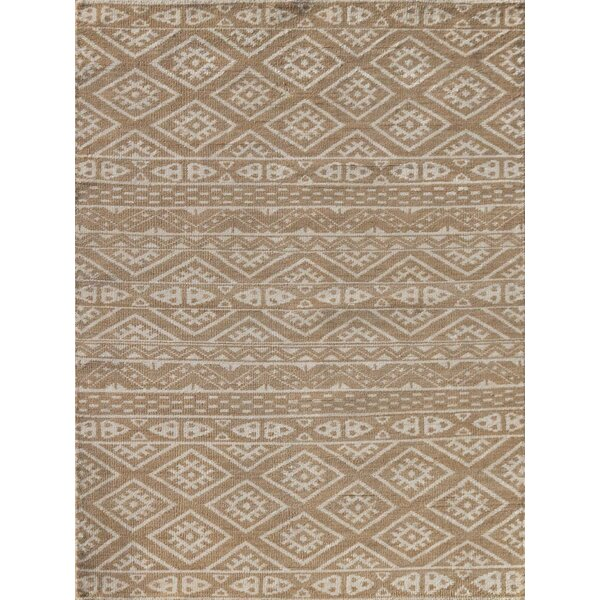 Lunenburg Hand-Knotted Camel Area Rug by Union Rustic